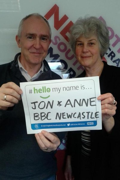 Jon and Anne
