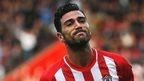 Southampton's Graziano Pelle  celebrates scoring against Sunderland