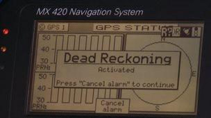 Instrument on ship