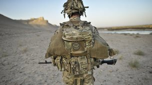 File photo: A British soldier from the 1st Battalion Royal Regiment Fusiliers during a dawn foot patrol in the Nahr-e Saraj district, Helmand Province, Afghanistan