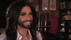Bearded drag queen Conchita Wurst talks