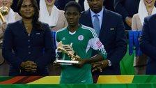 Nigeria striker Asisat Oshoala