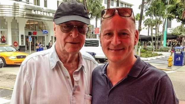 michael caine and jim white
