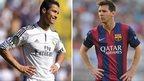 Cristiano Ronaldo v Lionel Messi