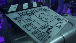 Doctor Who clapper board