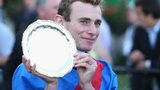 Adelaide jockey Ryan Moore with the Cox Plate