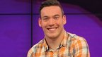 Newsround presenter Martin Dougan