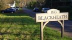 Blackheath village in Surrey