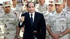 Egyptian President Abdul Fattah al-Sisi, responding to attacks in Sinai, 25 October 2014