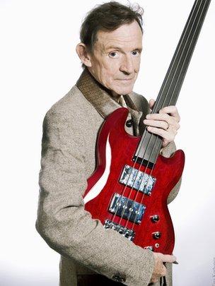 Cream bassist Jack Bruce dies, aged 71...