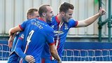 Inverness celebrate the opener