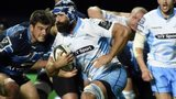 Glasgow Warriors number eight Josh Strauss