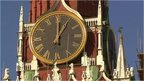 Clock in Russia