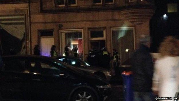 Police in central Edinburgh incident...