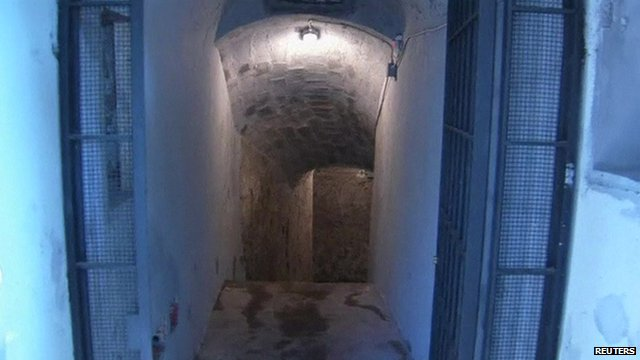 VIDEO: Mussolini bunker opens to public...