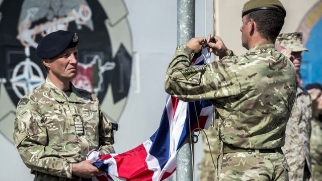 UK ends Afghan combat operations