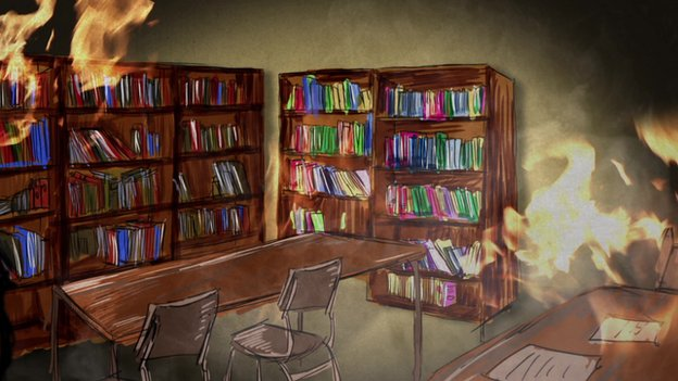 Burning library