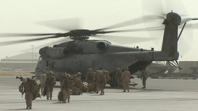 Last British troops leave Helmand