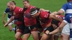 Powerful pack pleases Redruth coach
