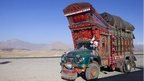 Colourful truck in Afghanistan