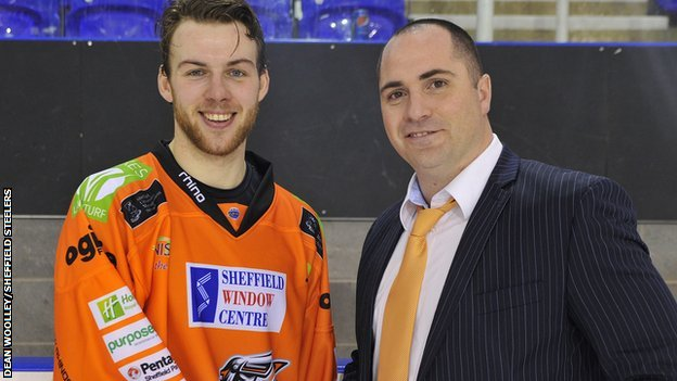 UK: Ben O'Connor Signs Extended Sheffield Steelers Deal