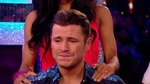 Mark Wright cries