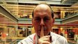 Rory Cellan-Jones puts his fingers to his lips