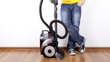 Man doing the chores