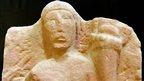 Genius Loci fertility deity statue