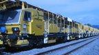 Network Rail's high output ballast cleaner