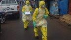 Ebola doctors in Sierra Leone