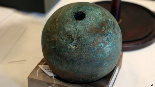 Cannonball from Phil Collins' Alamo collection