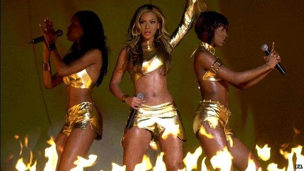 Destiny's Child at the 2001 Brits