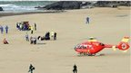 Beach tragedy victim's son's tribute