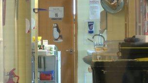 Loveridge Ward, the maternity unit, at Princess Elizabeth Hospital
