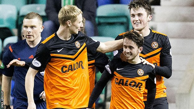 Dundee United won a thrilling cup tie at Easter Road
