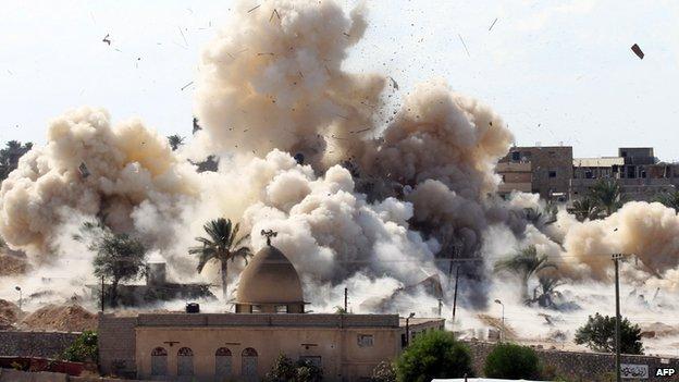 Military operation to create buffer zone in Rafah