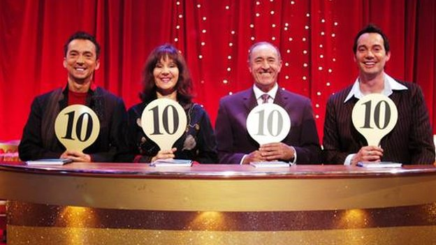 Arlene Phillips on Strictly panel