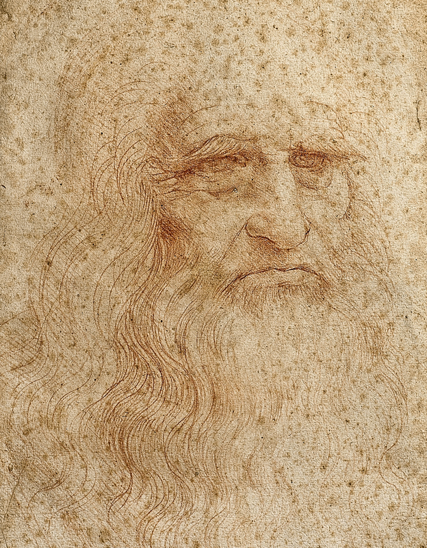 an analysis of red chalk by leonardo da vinci Study of an apostles head and architectural study - by leonardo da vinci courtesy of leonardodavincinet apostle's head of st james the great is for the last supper this drawing in red chalk and pen and ink displays the reaction of disbelief and shock in the most sensitive and perceptive of christ's disciples.