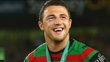 Sam Burgess after helping the South Sydney Rabbitohs become NRL champions