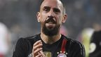 Ribery hit by scarf in Bayern win