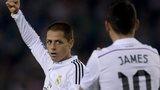 Real Madrid's Javier Hernandez
