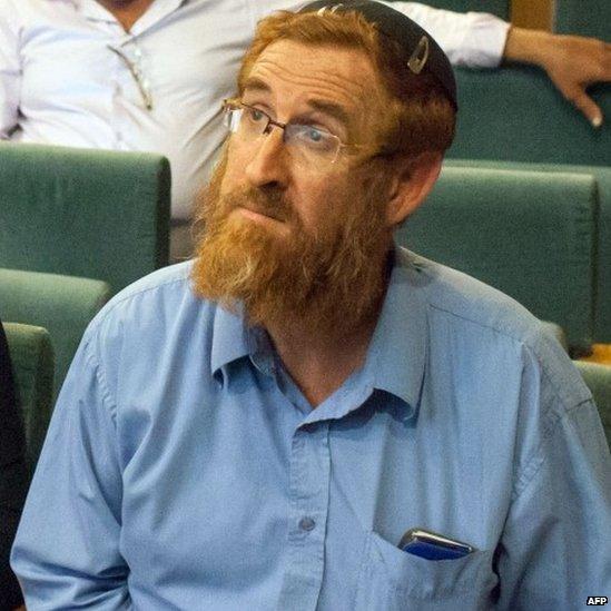 Yehuda Glick attends a conference at the Menachem Begin Heritage Centre in Jerusalem (29 October 2014)