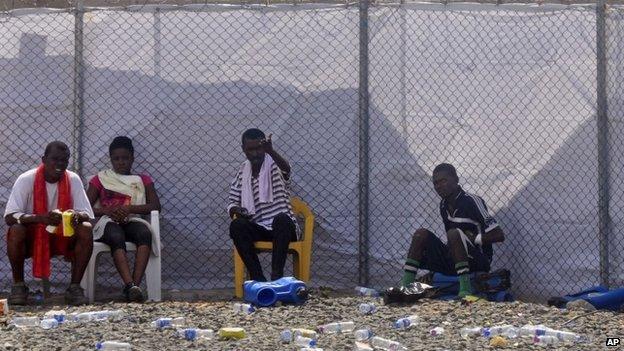 Quarantine in Liberia