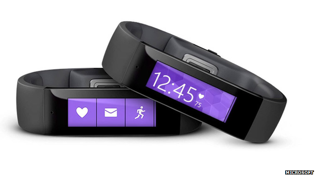 Microsoft Unveils New Fitness Band
