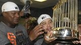 San Francisco Giants celebrate their World Series triumph
