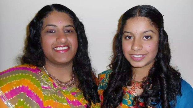 Trish and Nisha Lad