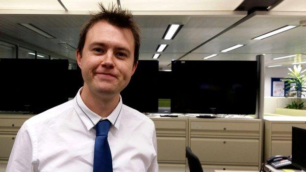 Jonny Palmer, BBC WM reporter