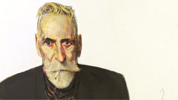 John Byrne self portrait