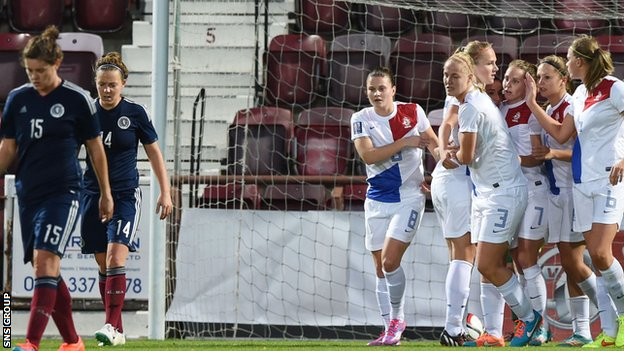 Scotland's women face Netherlands